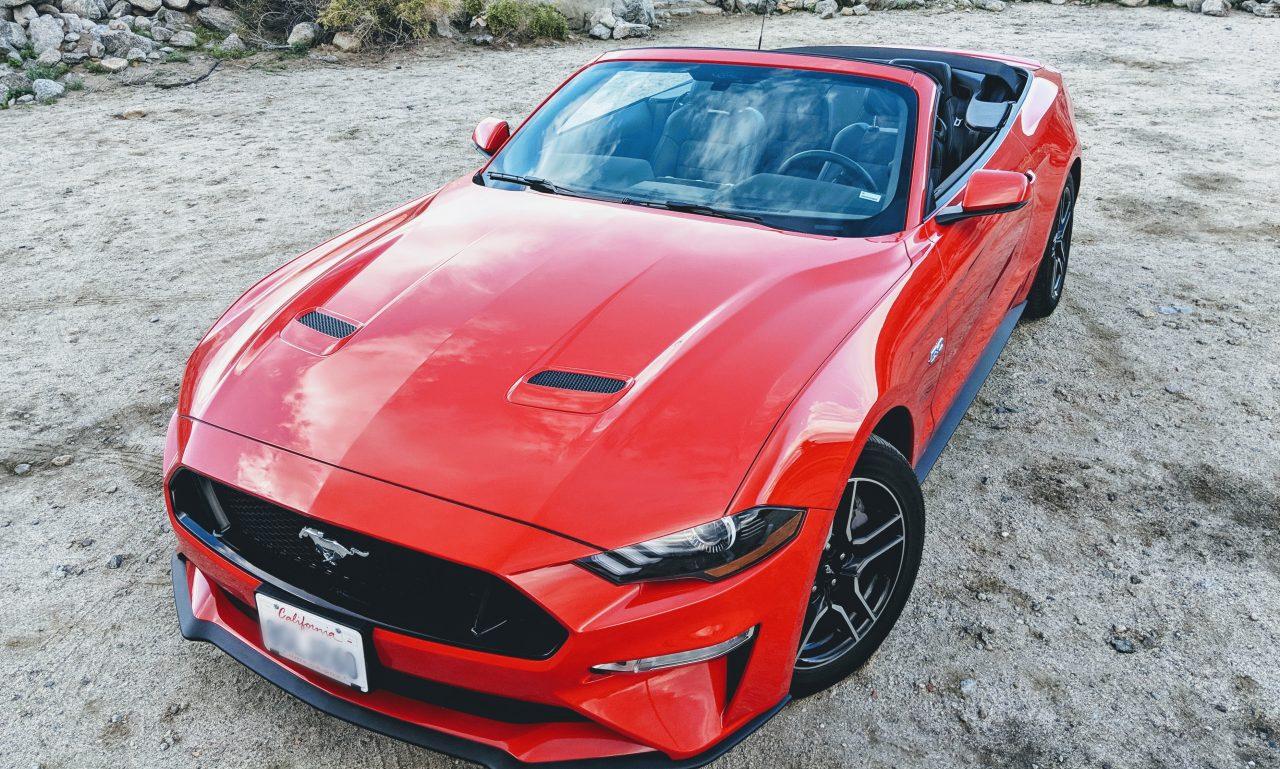 2019 Mustang GT hood vents